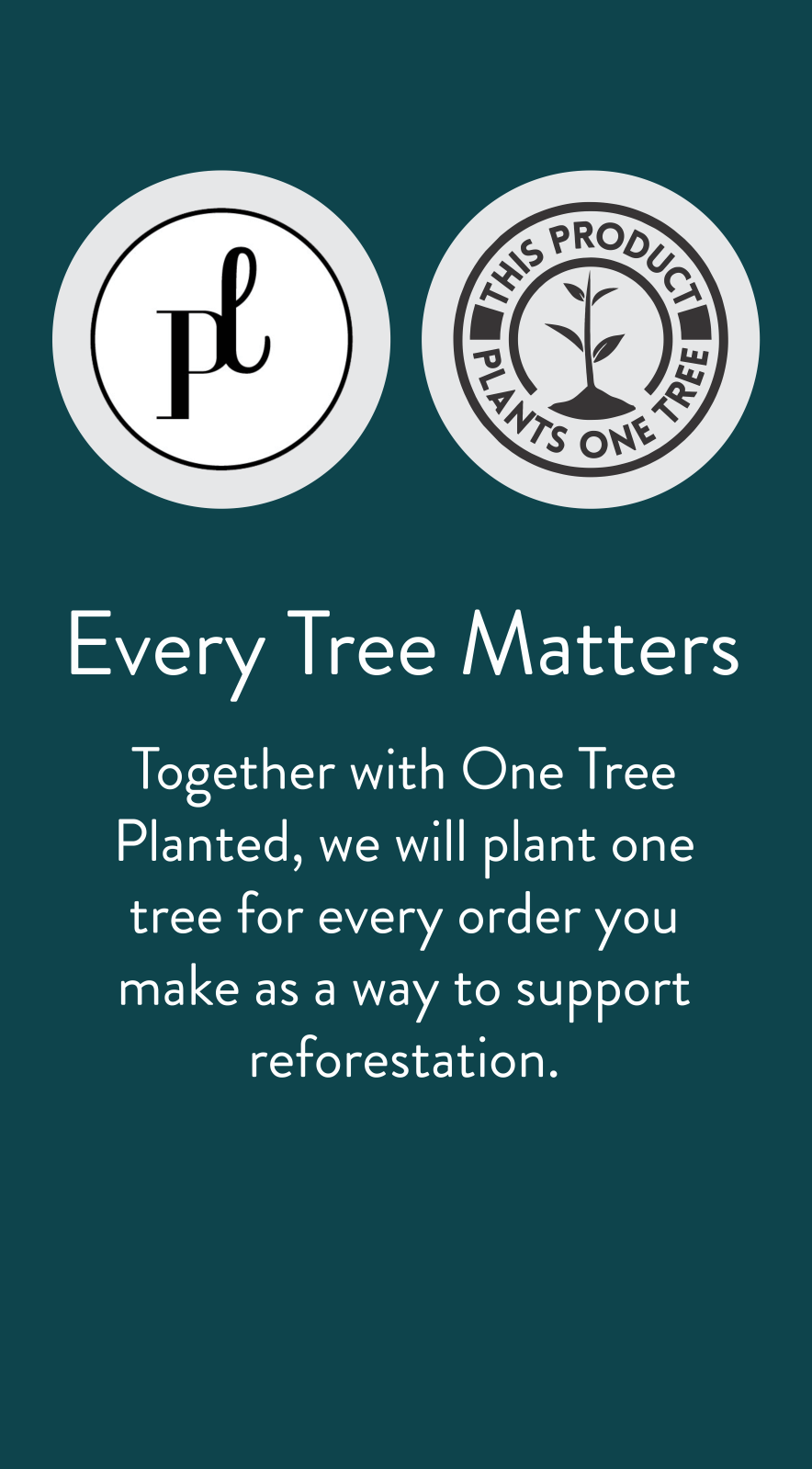 one tree planted item banner