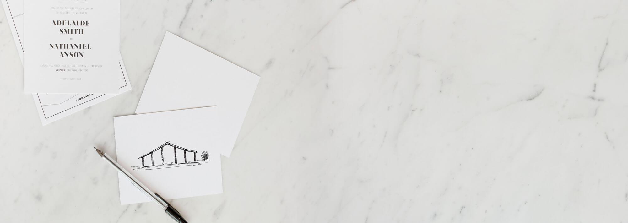 custom wedding invitations paperlust