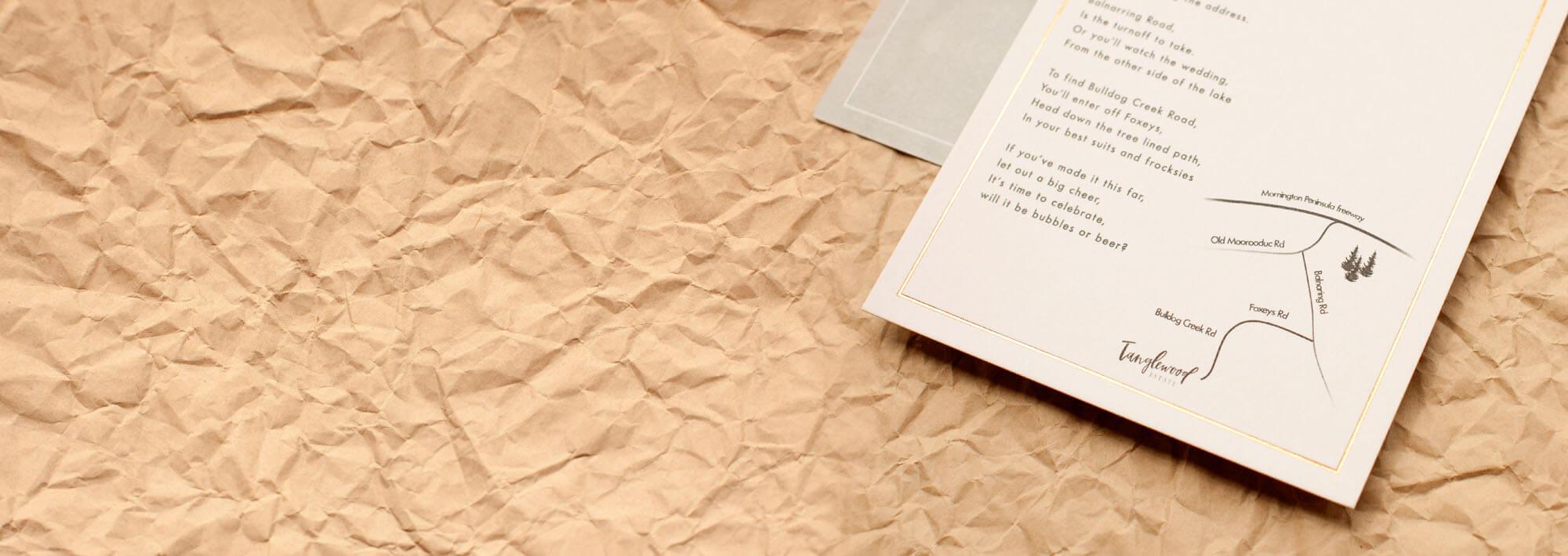 a1b6c8cc00 Custom Wedding Invitations | Custom Made By Designer With Paperlust ...
